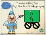 Adding Two Digit Numbers With Regrouping