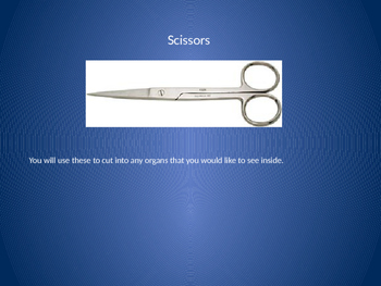 Tools for Dissections