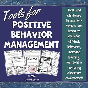 Classroom Management and Positive Behavior Management: Sch