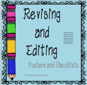 Tools for Revising and Editing