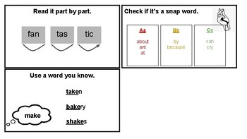 Tools for Solving Hard Word (Lucy Calkins Grade 1 Unit 2)