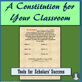 Tools for Scholars' Success: A Constitution for Your Classroom