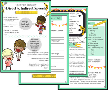 Tools for Tackling Direct & Indirect Speech