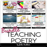 Poetry Teaching BUNDLE: Terms, Types, Analysis, and Assessment