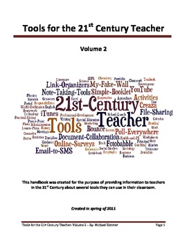 Tools for the 21st Century Teacher: Volume 2