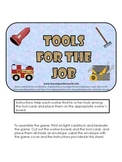 Tools for the Job. Sorting activity.