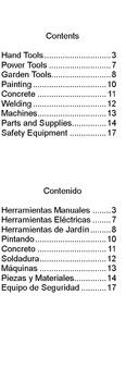 Tools in English for Spanish Speakers  -  Herramientas en Inglés para