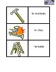 Tools in French Vocabulary Concentration games