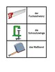 Tools in German Vocabulary Concentration games