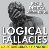 Logical Fallacies, Tools of Argument, Debate & Rhetoric Skills, Grades 7-12 CCSS