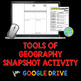 Tools of Geography Snapshot Activity BUNDLE