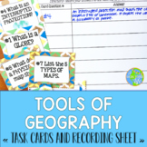 Tools of Geography Task Cards BUNDLE