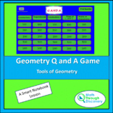 Geometry - Smartboard Q and A Game - Tools of Geometry