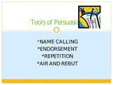 Tools of Persuasion Lesson Powerpoint