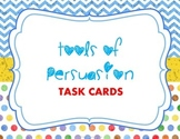 Tools of Persuasion Task Cards and Test