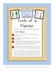 Tools of a Painter - Montessori 3 part cards