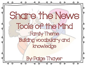 Tools of the Mind Share the News - Family