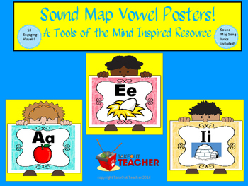 Tools of the Mind Sound Map Vowel Posters