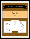 Tools (set I) Picture Flashcards
