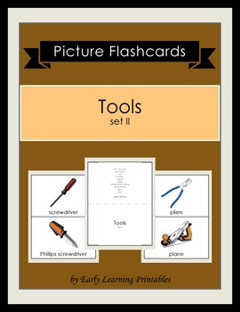 Tools (set II) Picture Flashcards
