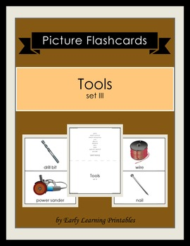Tools (set III) Picture Flashcards