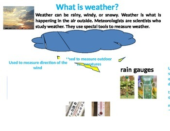 Tools that Measure Weather