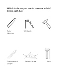 Tools to Measure Solids