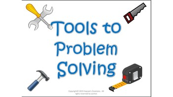 Tools to Problem Solving Bulletin Board