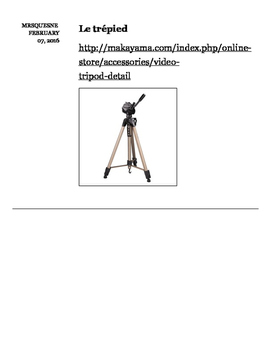 Tools to create a webTV (French version)