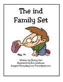 Toon Word Family Activity Set (-ind)
