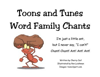 Toons and Tunes Word Family Chants