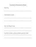 Toontastic Brainstorm Sheet!