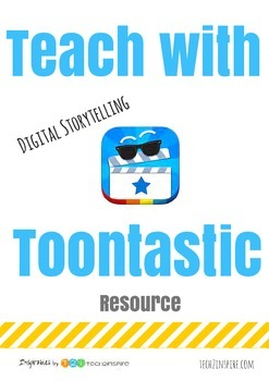 Toontastic Resource with Scenes and Characters