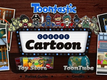 Toontastic Story Board