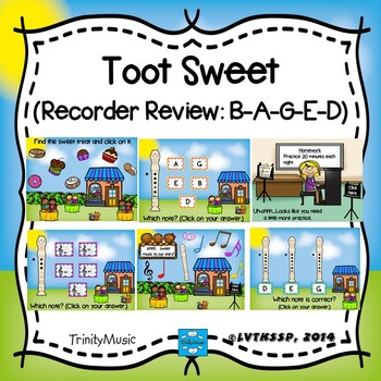 Toot Sweet (Recorder Review: B-A-G-E-D)