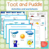 Toot and Puddle Activities and worksheets
