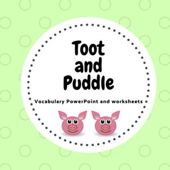 Toot and Puddle weather/clothes and transportation worksheets