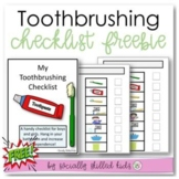 FREE  Toothbrushing Routine || Picture Board and Checklist