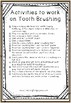 Tooth Brushing Visual Sequencing Cards