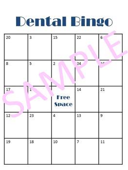 Tooth Care Bingo Bundle