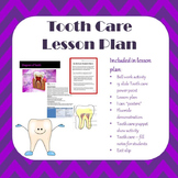 Tooth Care Lesson Plan
