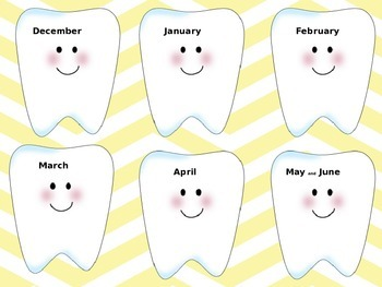 Tooth Chart!