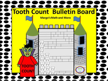 PREPRINTED! Tooth Count 3D Bulletin Board