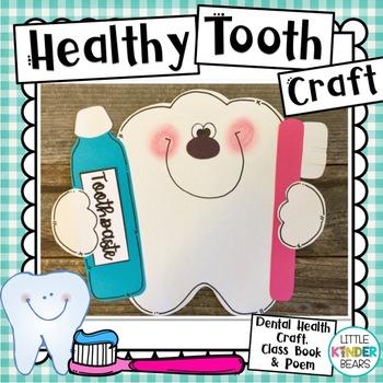 Tooth Craft & Poem for Dental Health