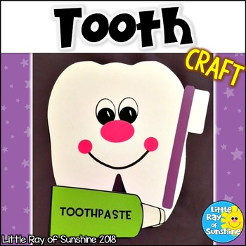 Tooth Craft for Dental Health and February