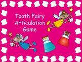Tooth Fairy Articulation Game