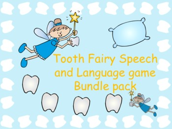 Tooth Fairy Articulation & Language Bundle Pack