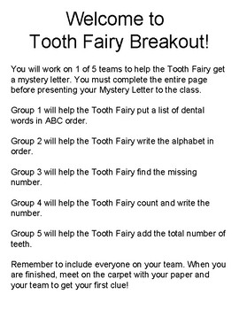 Tooth Fairy BREAKOUT!