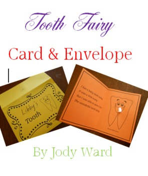 Tooth Fairy Card & Envelope