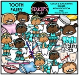 Tooth Fairy Clip Art Bundle {Educlips Clipart}